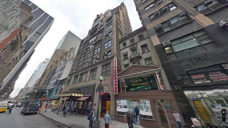 lease office 37 west 47th street