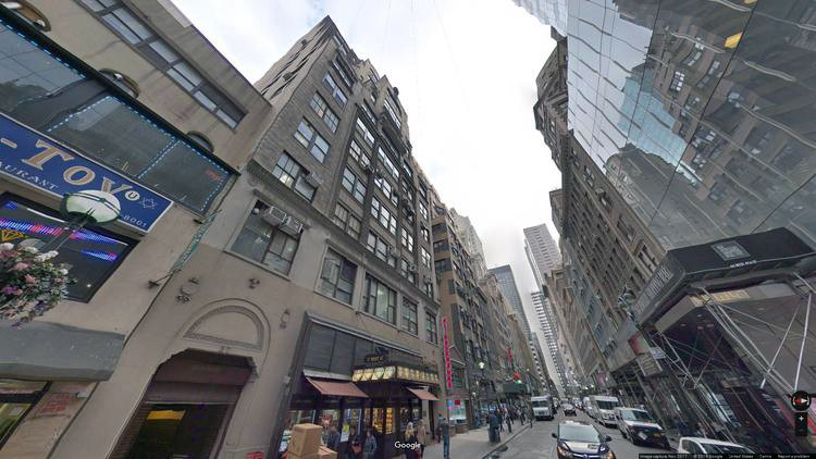 let office 37 west 47th street