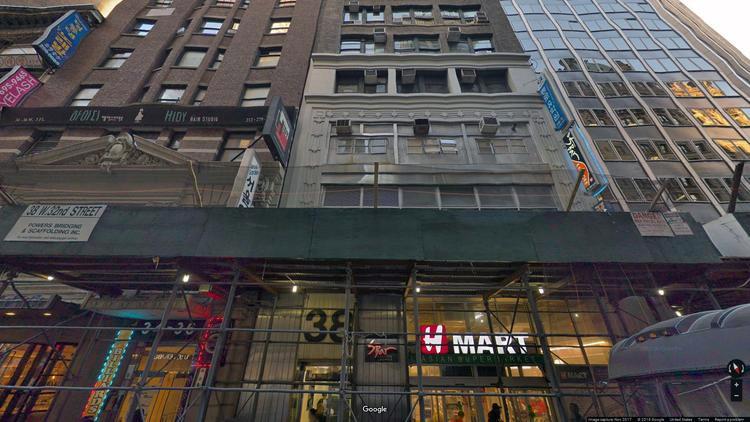 lease office 38-40 west 32nd street