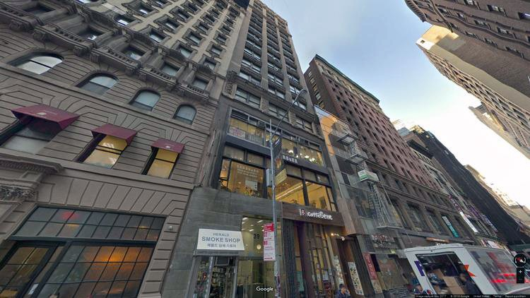 lease office 39 west 32nd street