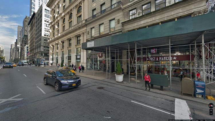 lease office 393 fifth avenue