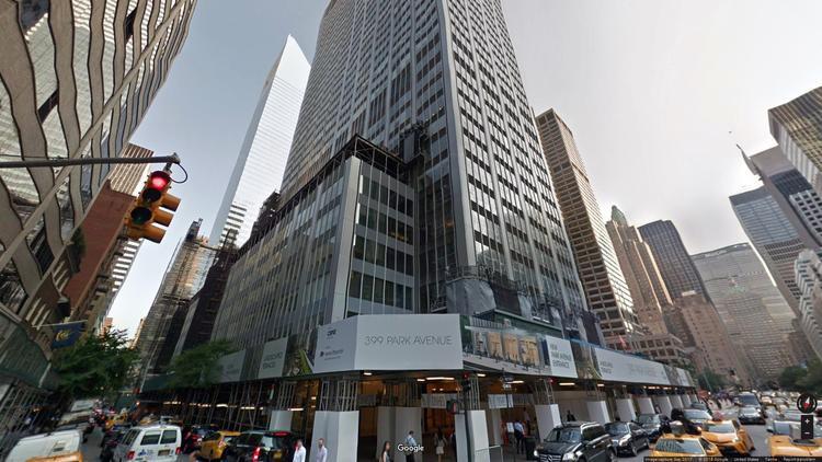 lease office 399 park avenue