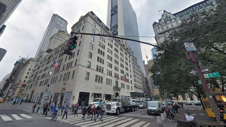 rent office 4-8 west 58th street