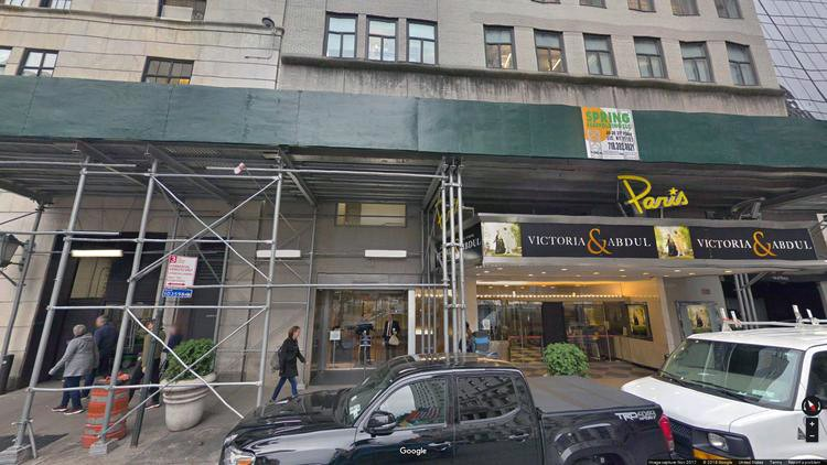 lease office 4-8 west 58th street