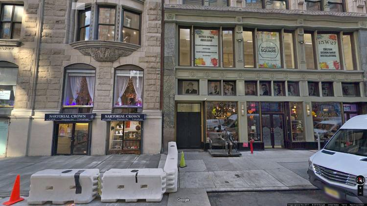 rent office 40-42 west 27th street