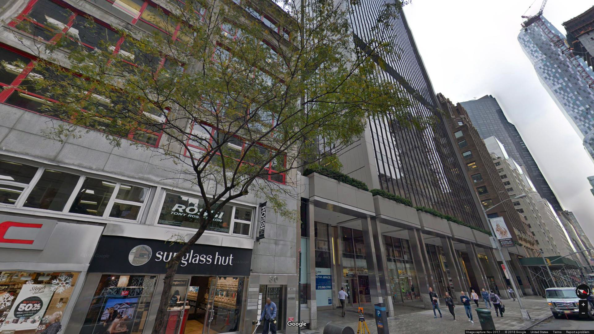 Lease Office 40 West 57th Street