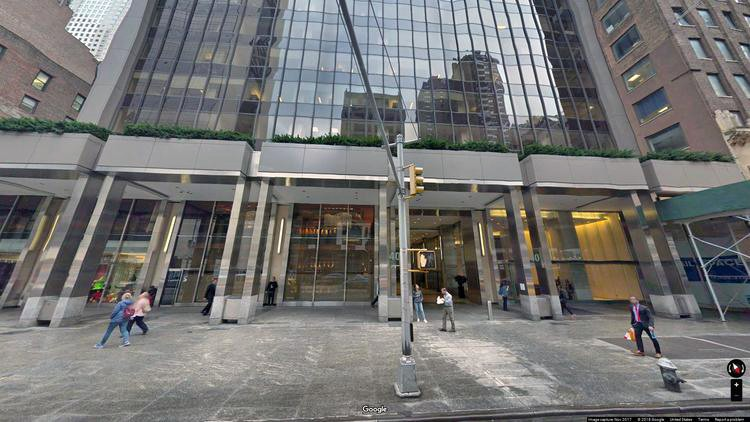 rent office 40 west 57th street
