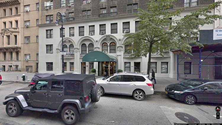 rent office 40 west 72nd street