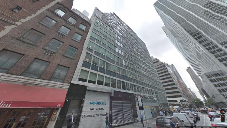 let office 400 park avenue
