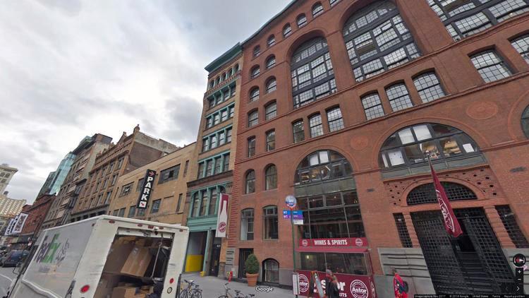 lease office 401 lafayette street