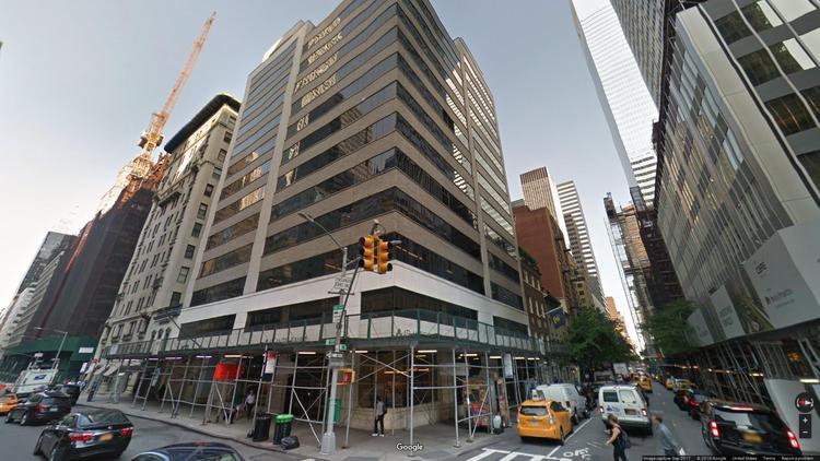rent office 405 park avenue