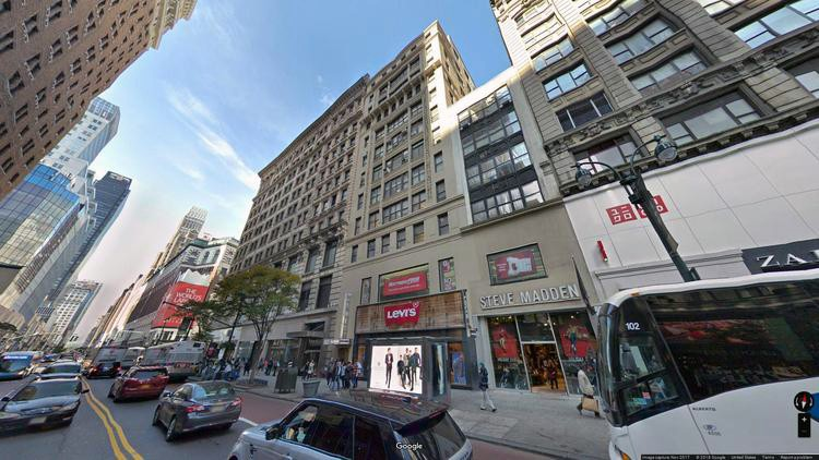 let office 41-45 west 34th street