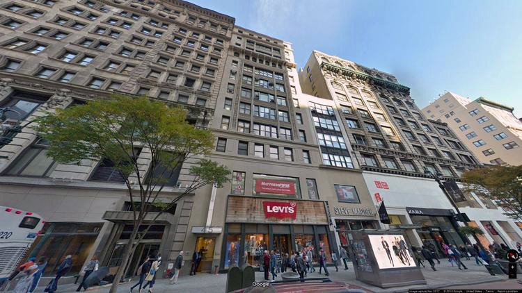 lease office 41-45 west 34th street