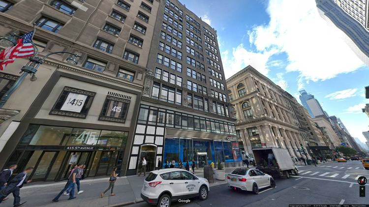 lease office 411 fifth avenue