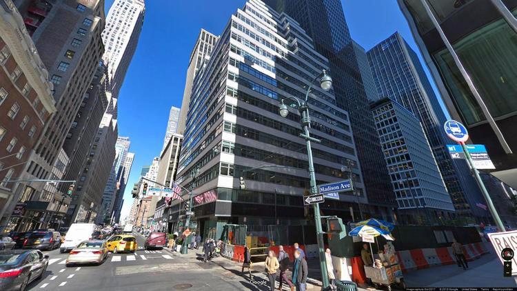 lease office 415 madison avenue