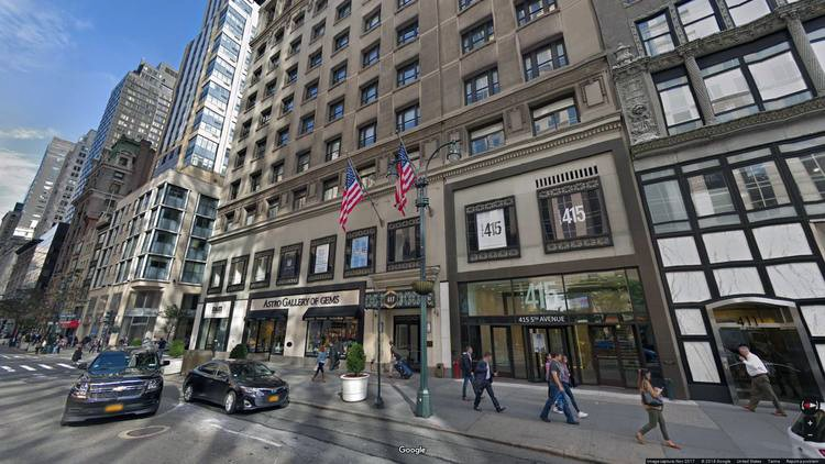 lease office 417 fifth avenue