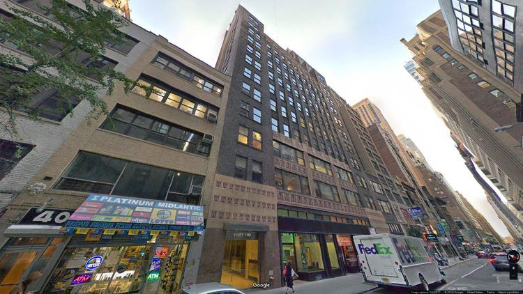 rent office 42 west 39th street