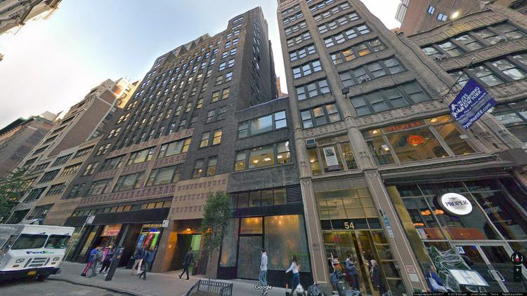 lease office 42 west 39th street