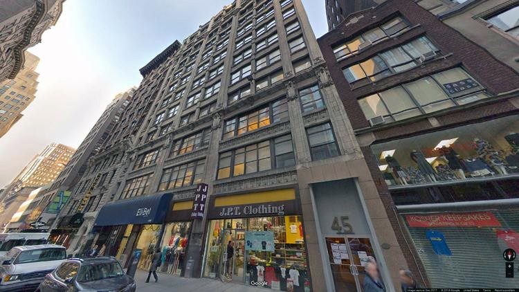 lease office 43-51 west 36th street
