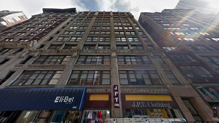 rent office 43-51 west 36th street