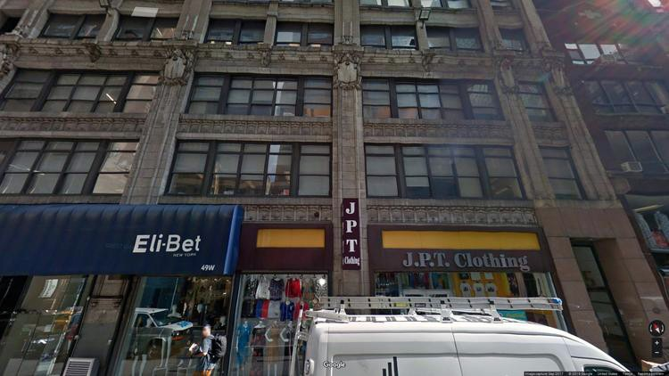 let office 43-51 west 36th street