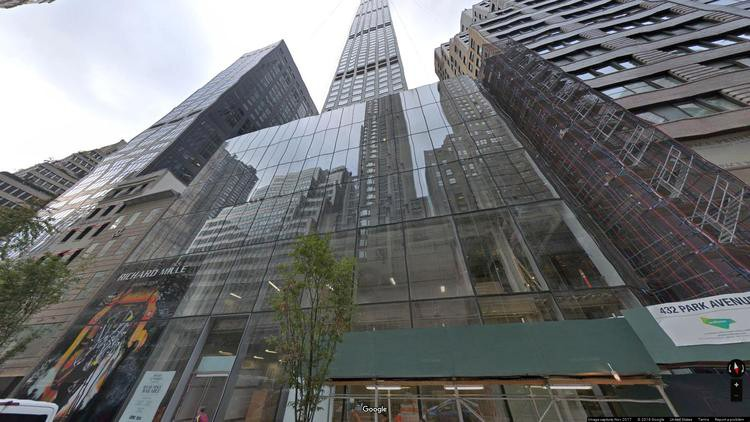 lease office 432 park avenue