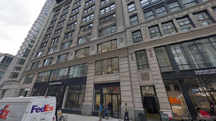 rent office 45 west 25th street