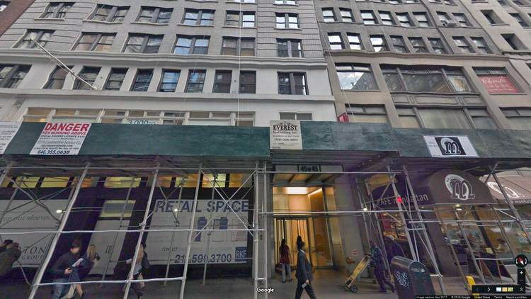 rent office 45 west 45th street