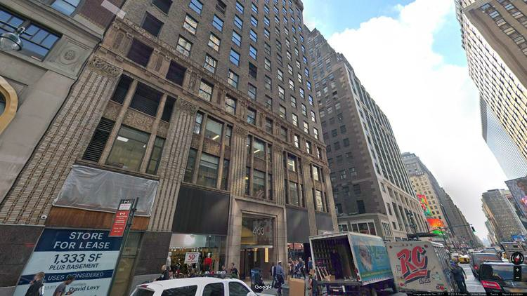 rent office 463 seventh avenue