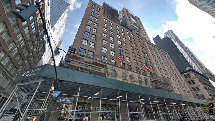 lease office 475 fifth avenue