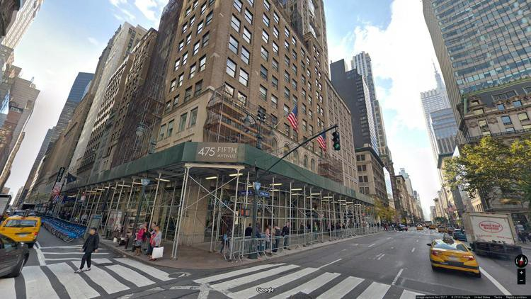 rent office 475 fifth avenue