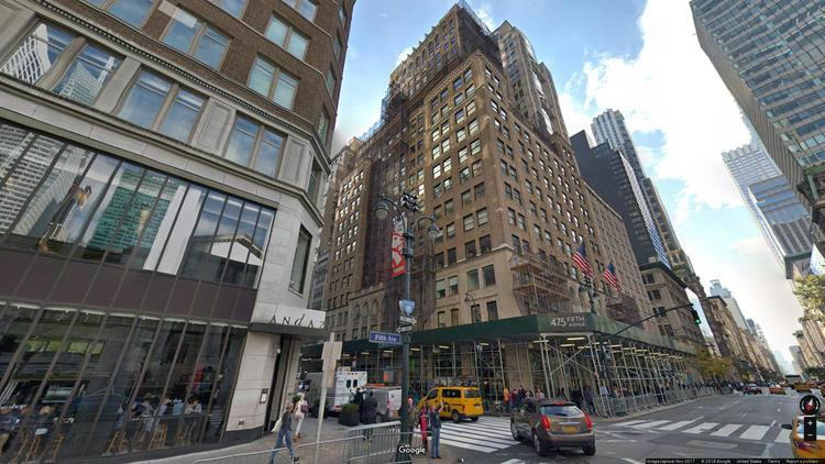 let office 475 fifth avenue