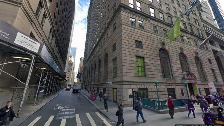 lease office 48 wall street