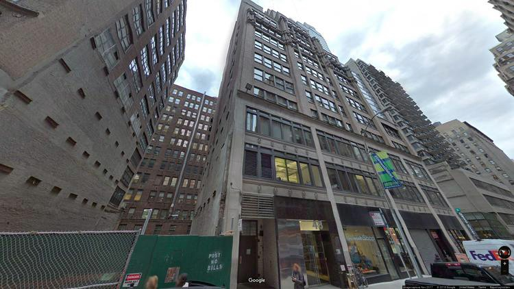 rent office 48 west 37th street