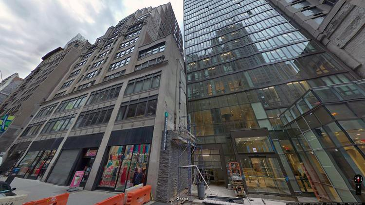 lease office 48 west 37th street