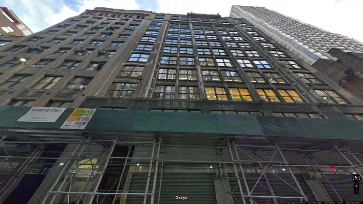 lease office 48 west 38th street