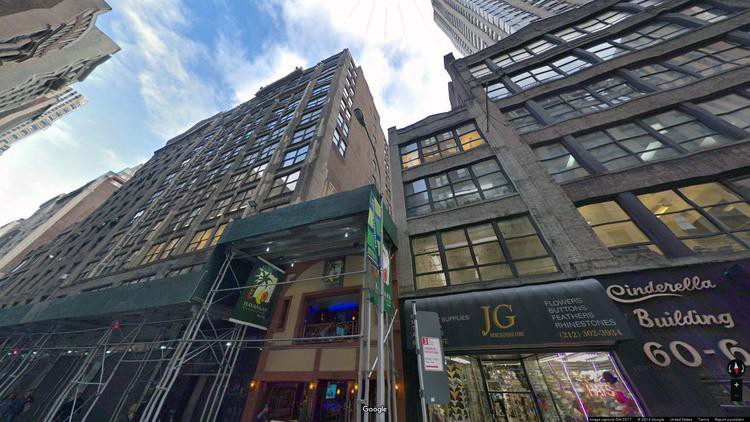 let office 48 west 38th street