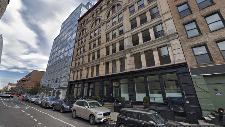 lease office 481-487 washington street