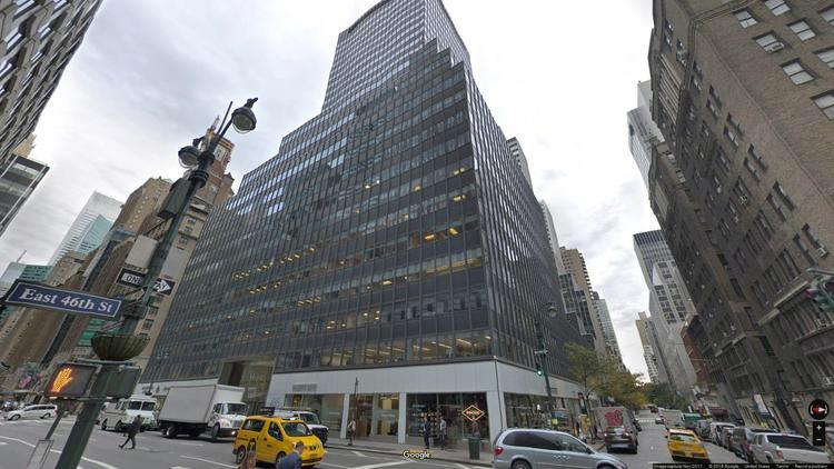 lease office 485 lexington avenue