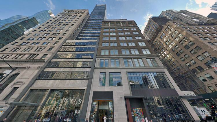 rent office 489 fifth avenue