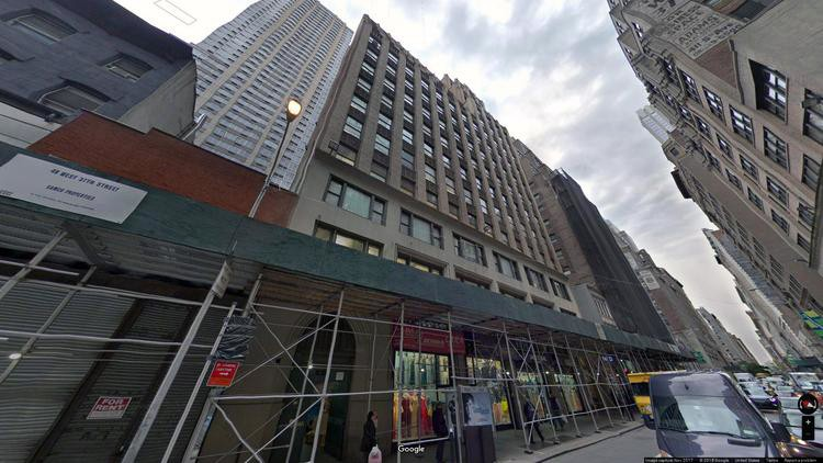 lease office 49 west 37th street