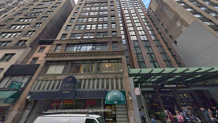 rent office 49 west 38th street