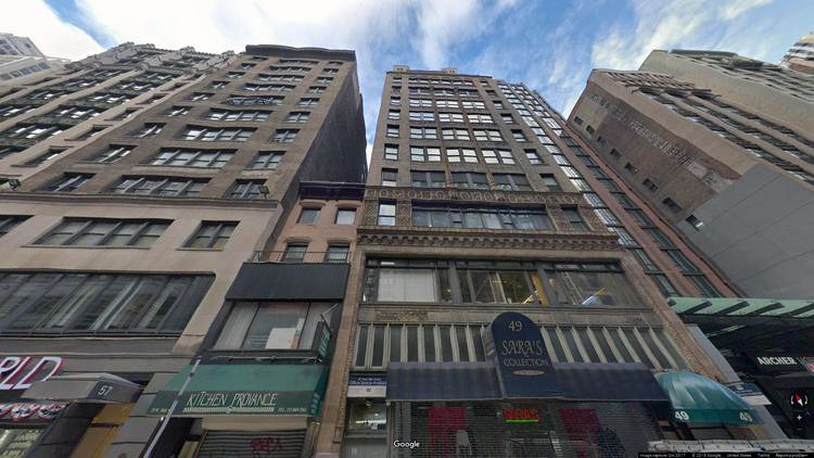lease office 49 west 38th street