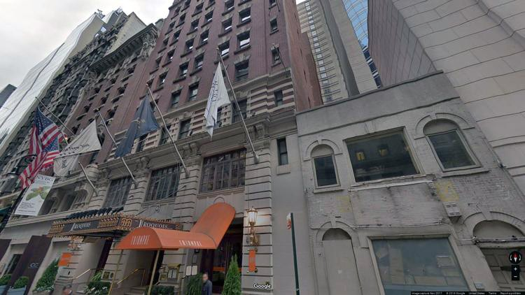 rent office 49 west 44th street