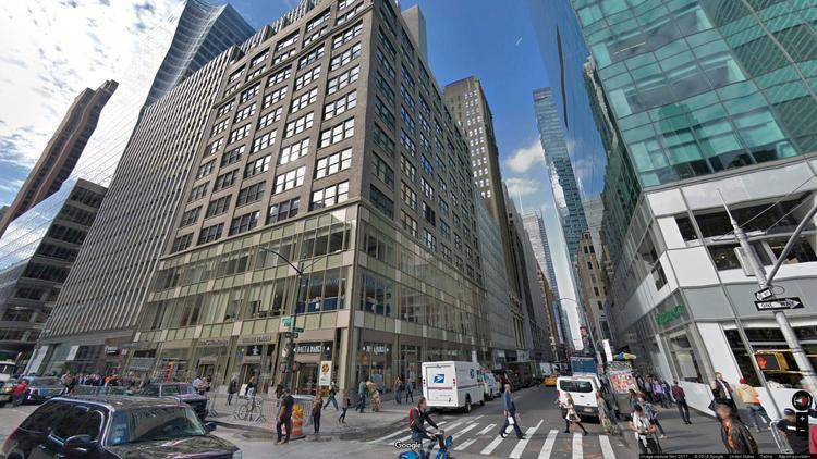 lease office 5 bryant park