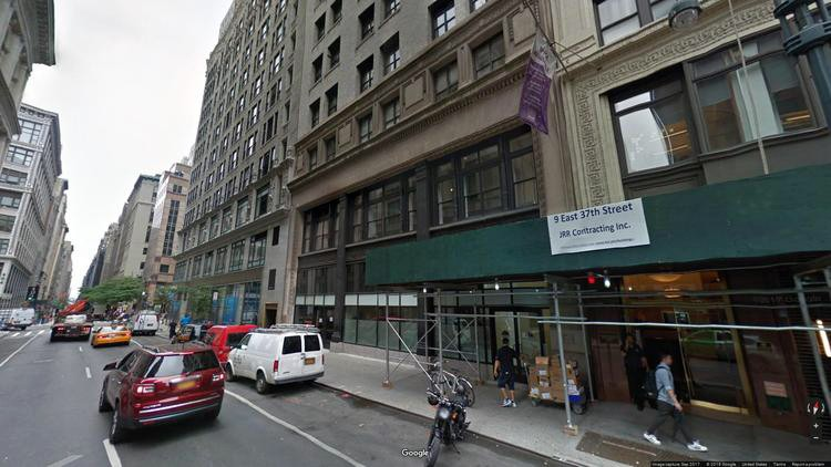 lease office 5 east 38th street
