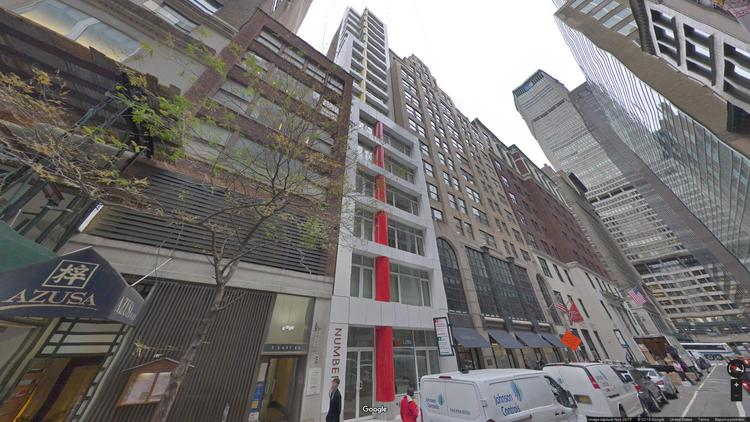 lease office 5 east 44th street
