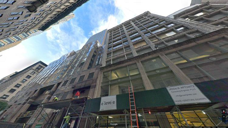 lease office 5 west 37th street