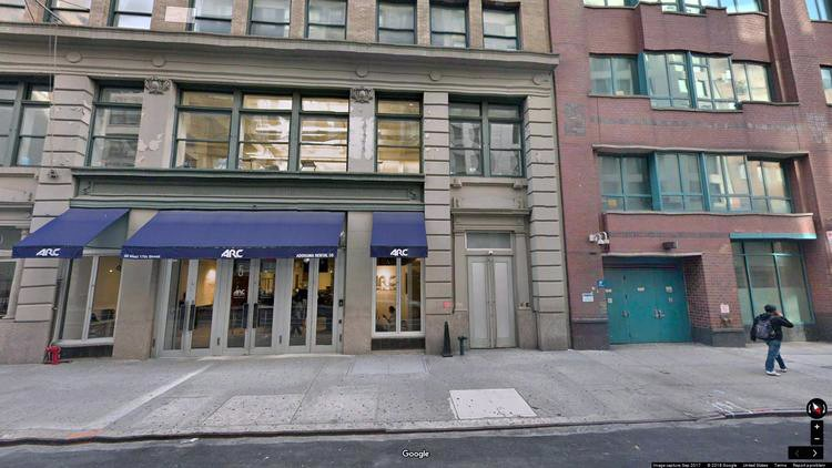 rent office 50 west 17th street