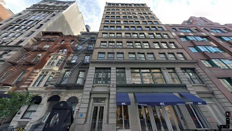 lease office 50 west 17th street